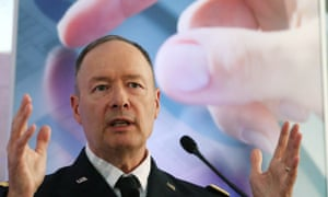 Keith Alexander, director of the National Security Agency speaks during a conference at the Ronald Reagan Building.
