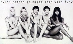 Nude Supermodels in Anti Fur Campaign
