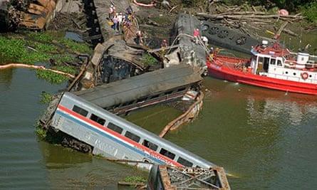 SUNSET LIMITED crash site