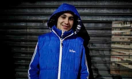 Patrick Pokuta, 17, originally from Slovakia, wants to be a mechanic