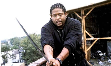 Forest Whitaker in Jim Jarmusch's Ghost Dog: the Way of the Samurai