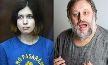 Nadezhda Tolokonnikova of Pussy Riot writing to Slavoj Žižek