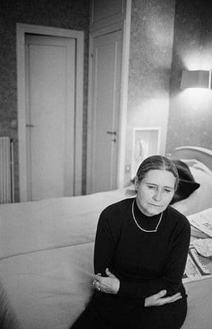 Doris Lessing obit: 1981: Doris Lessing in France