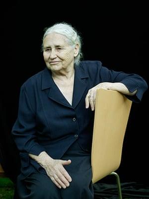 Doris Lessing obit: 2004: Doris Lessing at the Edinburgh International Book Festival