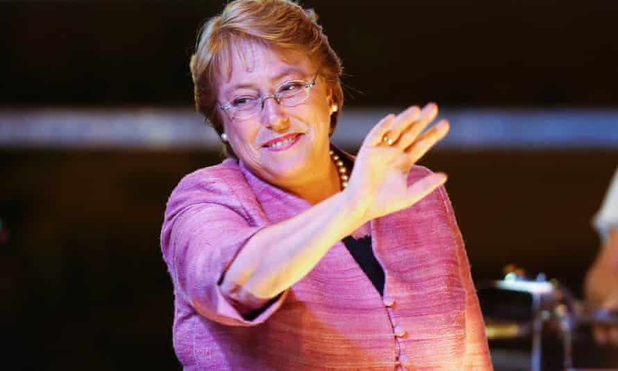 Michelle Bachelet: qualified victory.