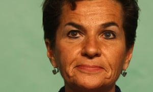 UN Framework Convention on Climate Change (UNFCCC) executive secretary Christiana Figueres