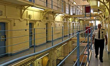 Craiginches prison in Aberdeen, Scotland