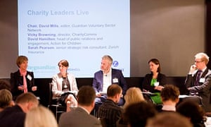 Charity Leaders Live panel
