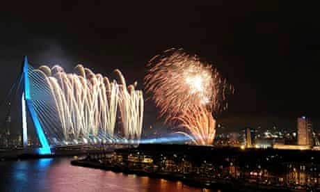 The New Year Is Celebrated Around The World