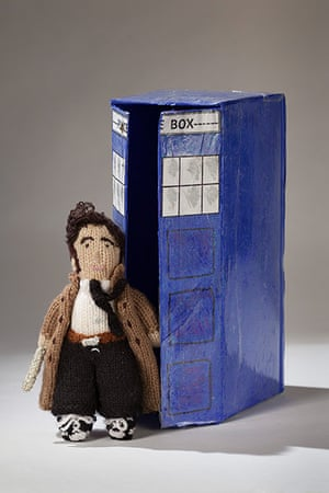 Doctor Who: knitted doctor