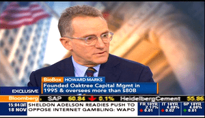Howard Marks of Oaktree Capital Management