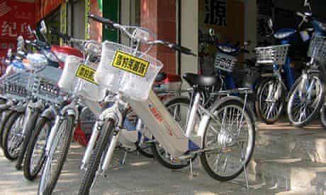 E-bikes in China