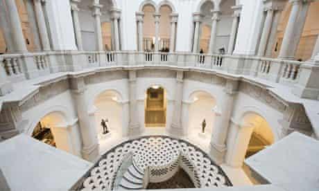 Tate Britain's new circular rotunda balcony