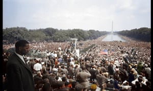 The March on Washington 1963, Colourisation from a black and white 35mm Film Negative, courtesy of the Library of Congress.