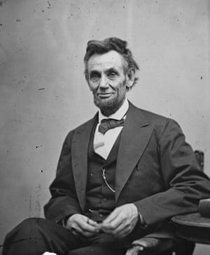 Abraham Lincoln circa 1863  Colourized