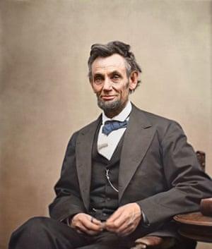 Abraham Lincoln circa 1863.