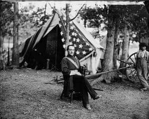 American Civil War: Union Capt. Cunningham, 1863.