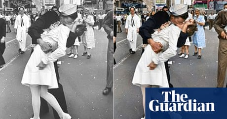 The vivid art of the colorizer art and design the guardian