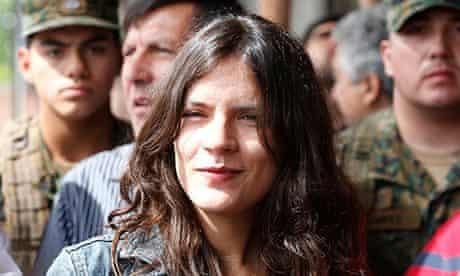 Chilean congresswoman Camila Vallejo