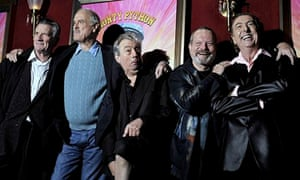 The original cast of Monty Python's Flying Circus