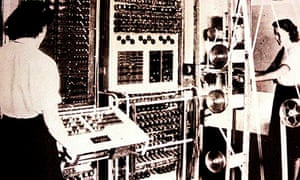 Colossus first codebreaker computer