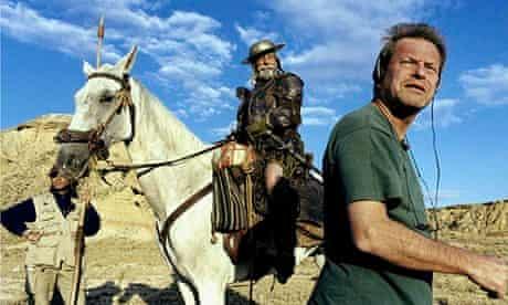 Terry Gilliam filming Don Quixote