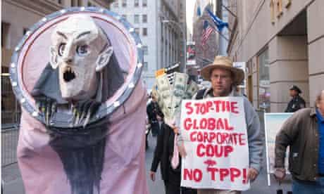 TPP protest new york