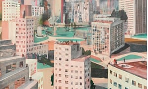 Jules de Balincourt's painting High and Low