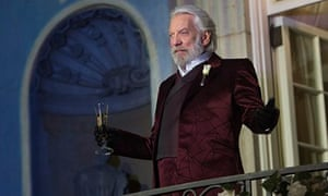 Donald Sutherland I Want Hunger Games To Stir Up A Revolution