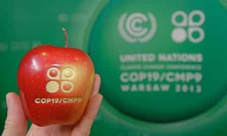 COP19/CMP9 in Warsaw, Poland, 11 November 2013