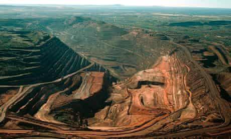 BHP Billiton Mt Whaleback iron ore mine