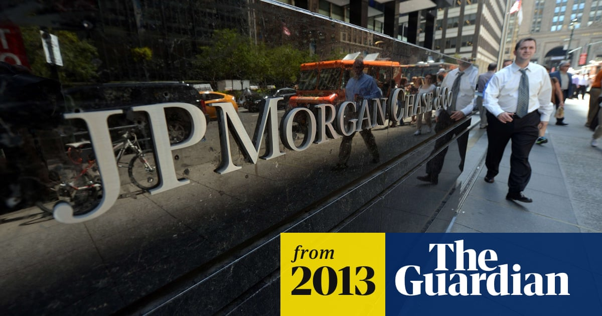 JP Morgan Chase agrees record $13bn settlement charges over