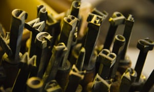 printing press letters journalism newspaper