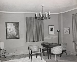 JFK Art: Living Area, Suite 850, Hotel Texas