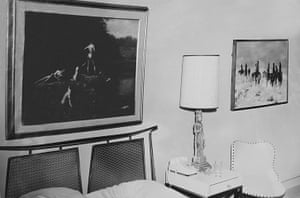 JFK Art: Second bedroom, Suite 850, Hotel Texas