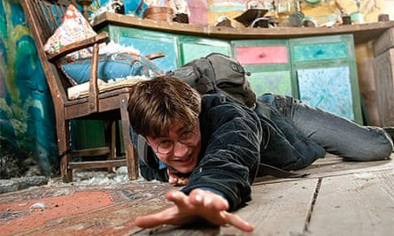 Daniel Radcliffe in Harry Porter And The Deathly Hallows: Part 1