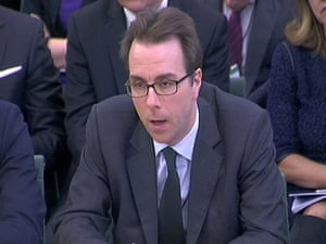 Richard Cormack, managing director, Co-Head of Equity Capital Markets at Goldman Sachs gives evidence to a Business Select Committee on the privatisation of the Royal Mail in the House of Commons, London.