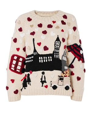 Christmas Jumpers: The Christmas jumper by Burberry