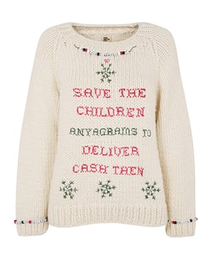 Christmas Jumpers: The Christmas jumper by Anya Hindmarch