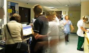 Health - NHS Hospital ward reception