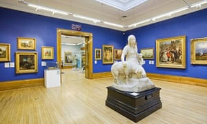 A display in Ferens Art Gallery in Queen Victoria Square, Hull, East Yorkshire