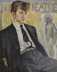 Portrait of Ray Gosling 1964 by David Gommon