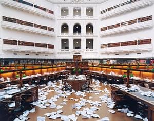 Melbourne Now: 10,000 paper planes