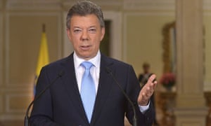 Juan Manuel Santos is favourite to retain the Colombian presidency in May 2014 elections