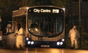 The bus in Derry examined after explosive device found