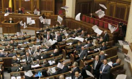 Tymoshenko leaflets