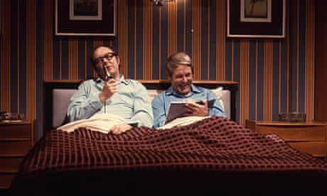 Morecambe and Wise in bed