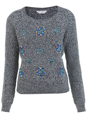 Embellished knitwear: : Embellished knitwear: key fashion trends of the season – in pictures