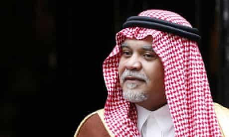 Saudi intelligence chief Prince Bandar