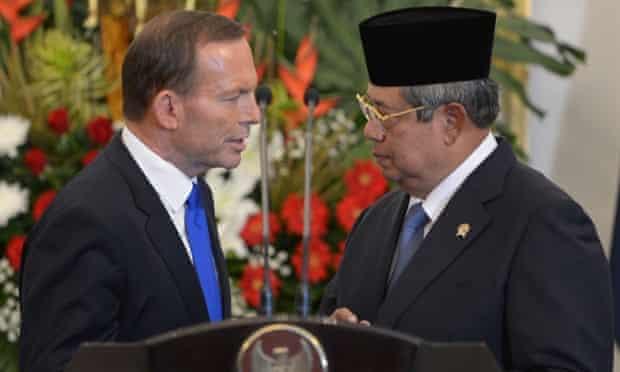 Susilo Bambang Yudhoyono and Tony Abbott